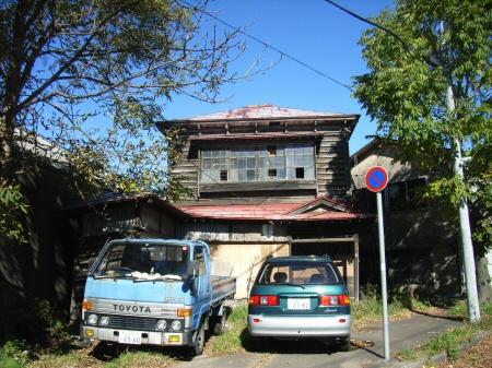 木造住宅廃屋