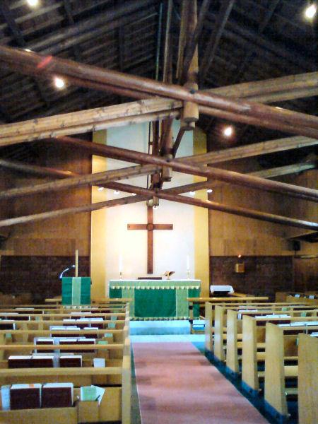 聖アルバン教会内部