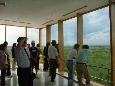 湿原の風アリーナ釧路 展望室