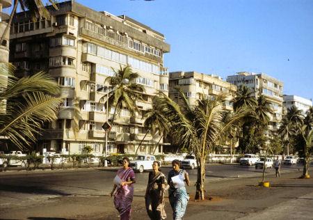 ムンバイ(ボンベイ)の街並み