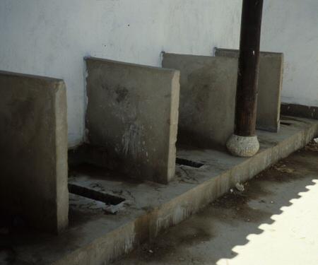 中国の公衆トイレ