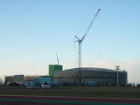 体育館遠景