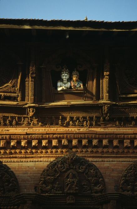 カトマンドゥのヒンドゥ寺院2