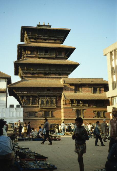 カトマンドゥのヒンドゥ寺院1
