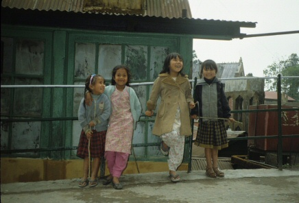 カトマンドゥの子供達