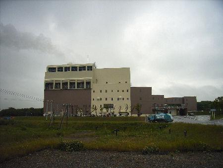 釧路広域連合清掃工場外観
