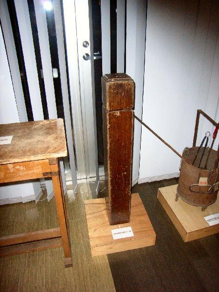 階段の親柱