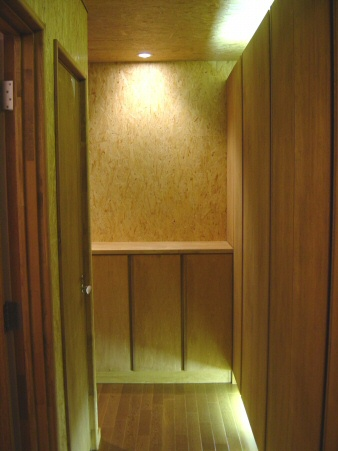 SG邸廊下の間接照明